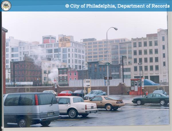 [View from parking lot] Project:401 North Broad Street .