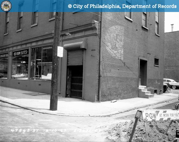 Contract S-2655-RD - 9th Street and Spring Garden to 10th Street and Buttonwood Street: Northeast Corner Nectarine Street and 9th Street.