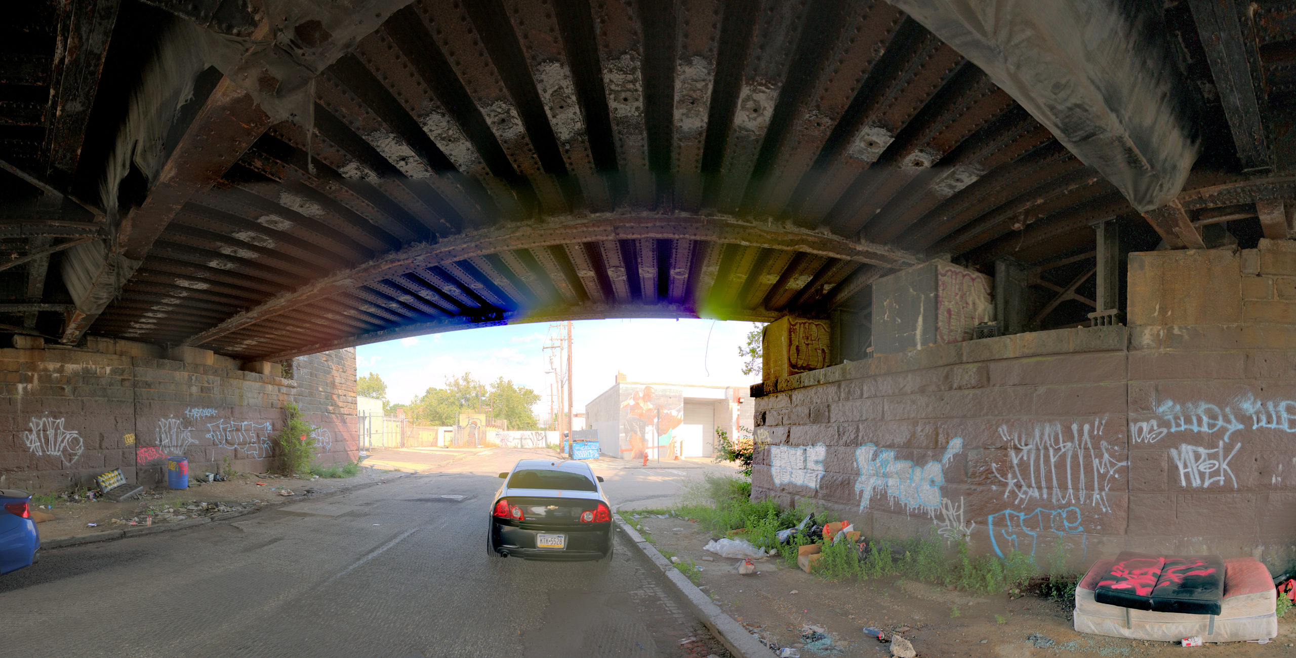 Reading Viaduct 575 N 9th St Philadelphia, PA Copyright 2020, Bob Bruhin. All rights reserved.