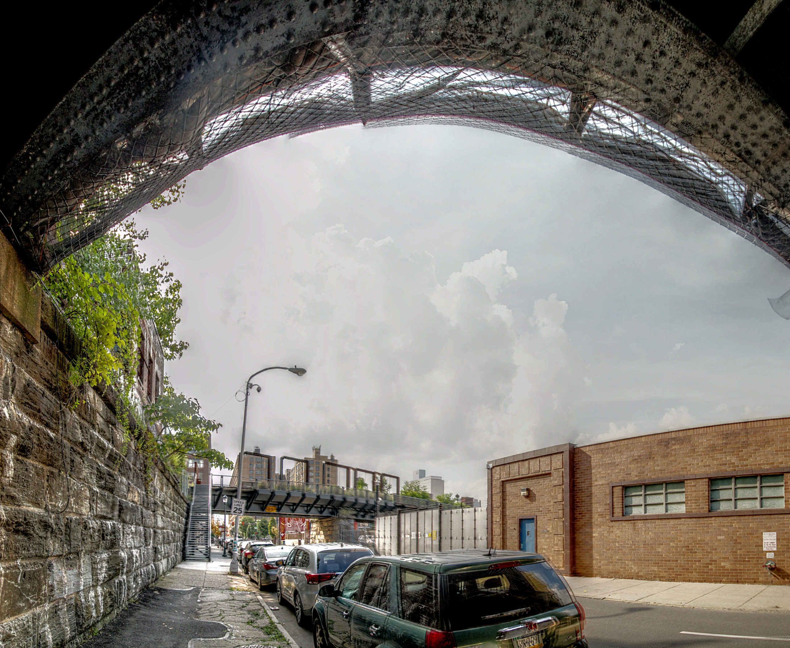 Reading Viaduct and The Rail Park N 11th St & Callowhill St Philadelphia, PA Copyright 2019, Bob Bruhin. All rights reserved.